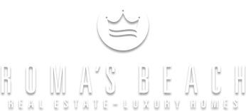 Logo Roma's Beach Real Estate - Luxury Homes