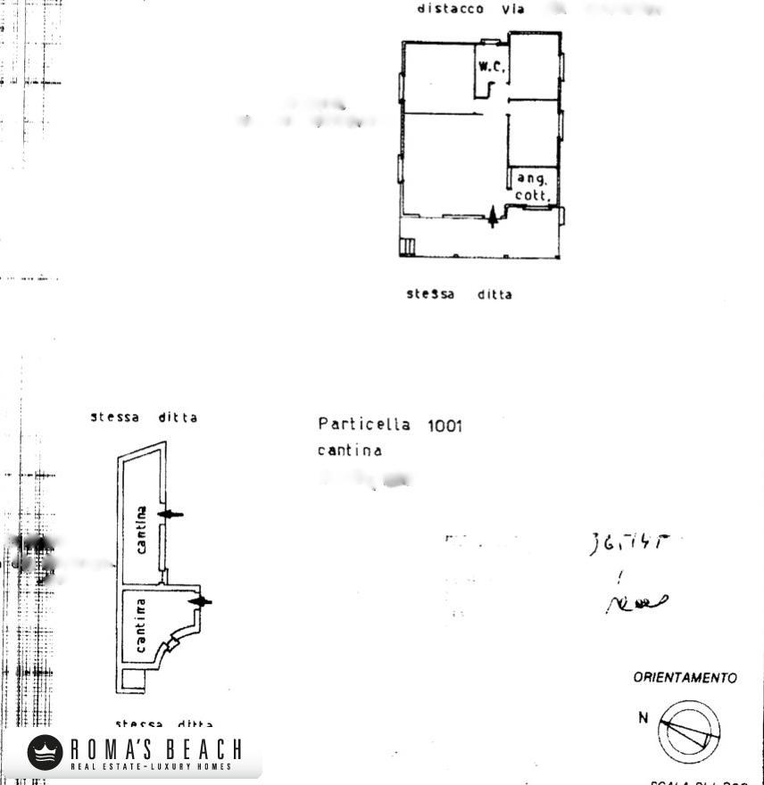 Nettuno vendesi villa unifamiliare con for Planimetrie 1 livello